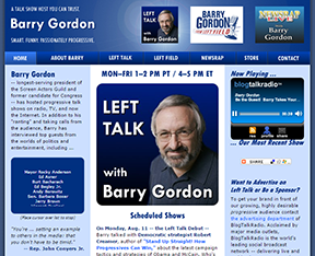 BarryTalk.com home page