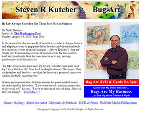Bug Art home page