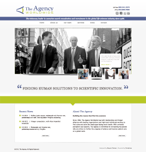 The Agency Worldwide home page