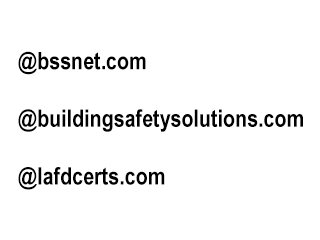 BSS E-Mail Address Suffixes