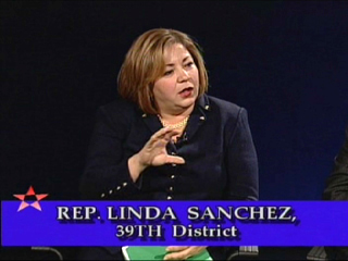 Rep. Linda S�nchez on cable TV show