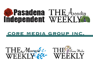 Logos of Weekly Newspapers in and around Pasadena, California